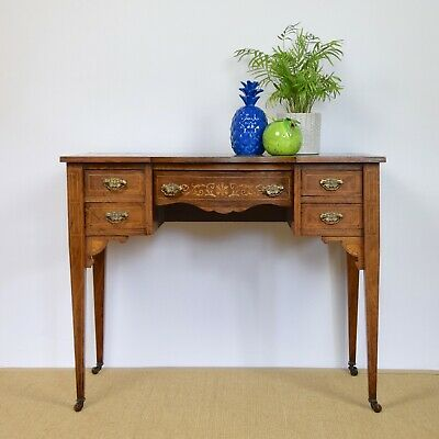 Antique Desk, Ladies' Writing Table, Edwardian Desk, c.1910, Walnut