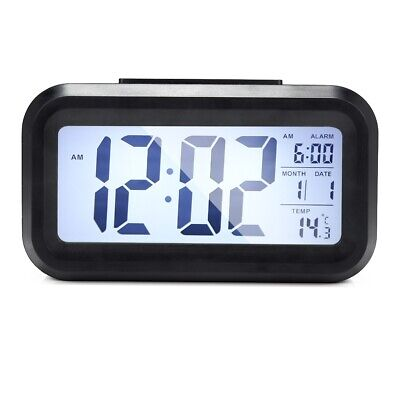 Digital LCD Display Alarm Clock with Backlight