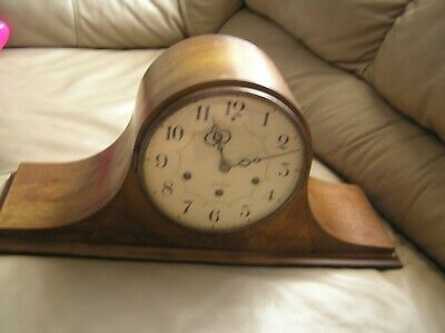 SETH THOMAS Mantel Clock No.124 Westminster Chimes 8 Day Wind up.