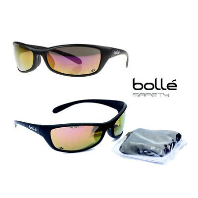 Bolle SPIDER Safety Glasses Spectacles UV Protection Free Storage Bag