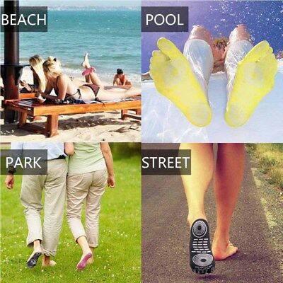 Foot Sticker Shoes Stick on Soles Sticky Pads for Feet Pad Protection Beach