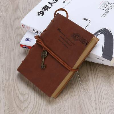 NEW Bound Leather Cover Vintage Diary Journal notebook Sketchbook Handmade Gifts