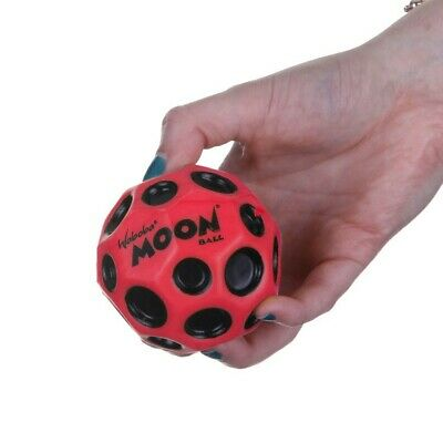 Original OEM Waboba Moon Ball Extreme Bouncing Crazy Spinning Ball Red