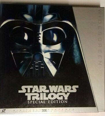 Star Wars Trilogy Special Edition  Laserdisc Japan Ntsc