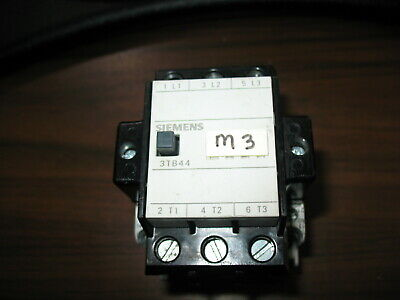 Siemens 3TB44 22-0X 40 Amp Contactor with 120V Coil