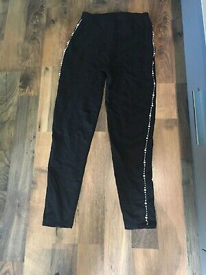 Girls River Island Casual Beaded Trousers Age 11/12 Years