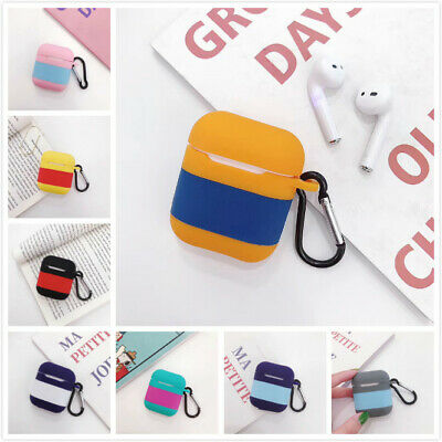 Premium AirPods Silicone Case Cover Protective Skin for Apple Airpod Charging US