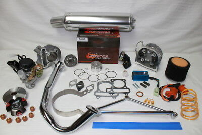 SCOOTER 100CC BIG Bore Kit-Big Valve Head- Performance