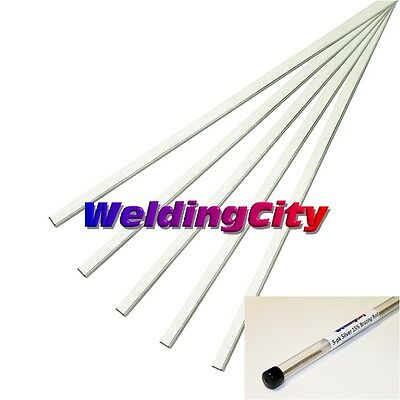 "WeldingCity 5-pk SILVER 5% Brazing Rod 20"" BCuP-5 for Air-Cond/Refr. Connection"