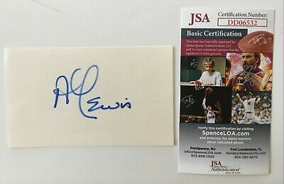 Al Lewis Signed Autographed 3x5 Card JSA Certified Munsters