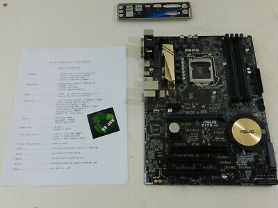 NEW ASUS SABERTOOTH Z170 Mark 1 The Ultimate Force Motherboard Sckt