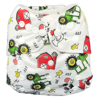IXYVIA Baby Cloth Diapers Resizable Adjustable Washable Pocket Nappies #1