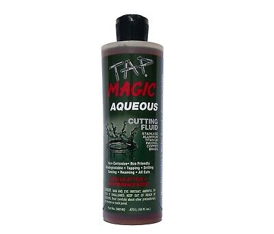 Tap Magic® Aqueous Formula Cutting Fluid, 16 oz spout top bottle
