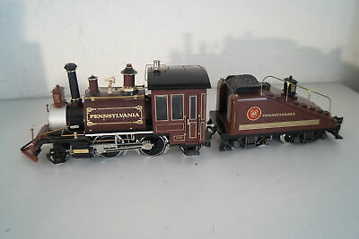 G Scale: LGB 2219 S US Steam Locomotive with Tender Pennsylvania, Top