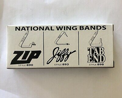 Zip 890 Size 3 Wing Bands ID Tags for Poultry