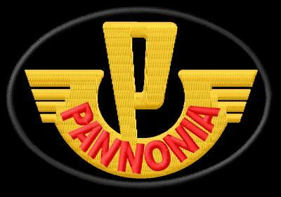 Pannonia DE LUXE 250 XL ricamate iron-on patch