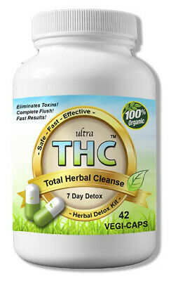 THC Detox Kit - Flush THC Out 7 Days - Full Body THC Cleanse  - Pass Guarantee!