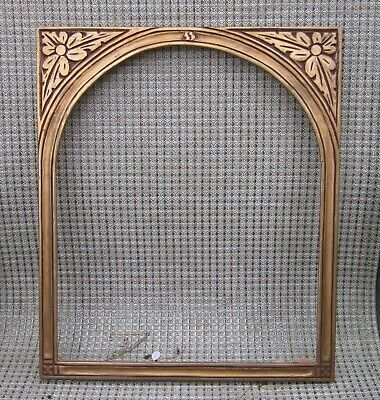 c1920 Foster Bros BOSTON School DECO ARTS CRAFTS NOUVEAU Gilded Tombstone Frame