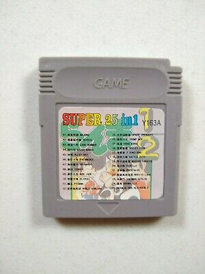 Super 25 in 1 - Nintendo Game Boy Multicart - New