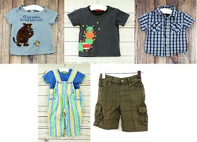 Baby Boys 6 - 12 Months Clothes Bundle The Gruffalo Ted Baker Frugi Little Rocha