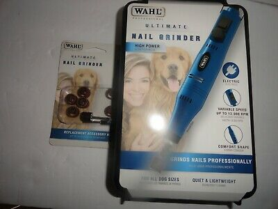 Wahl Professional Animal Ultimate Nail Grinder +Replacement Accessory Kit  NIB