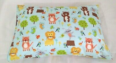 "Snuggly & Warm -  ""Jungle Friends""  toddler pillowcase - Flannelette"
