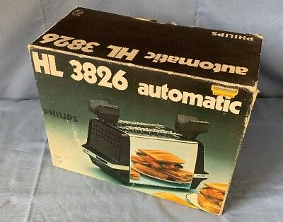 Philips HL 3826 automatic Toaster, vintage
