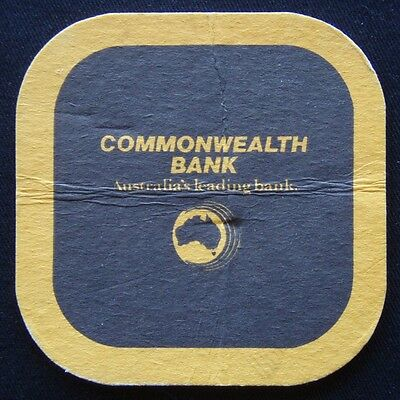 Commonwealth Bank Australia's Leading Bank Coaster (B267)