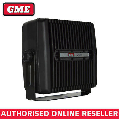 Gme 8 Ohm Heavy Duty Extension Speaker For Hf, Vhf, Uhf, Ham, Commercial