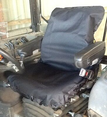 Heavy Duty Tractor Seat Cover fits Claas etc Waterproof - more colours available