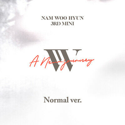 NAM WOO HYUN - A New Journey CD+Photobook+Photocard+Poster+Free Gift+Tracking no
