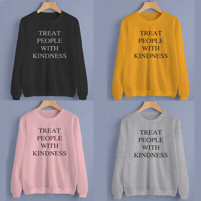 Treat People With Kindness Sweatshirt Unisex Pullover Sweater Tumblr Pullover