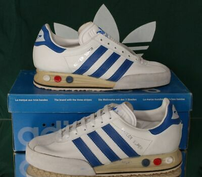 new concept 757c1 53348 Vintage ADIDAS Kegler Super Trainers UK 5 BNIB made in france Bowling Rom  Dublin