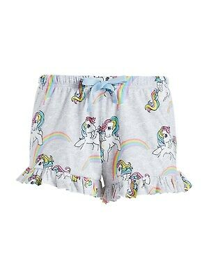New Peter Alexander Womens My Little Pony Ruffle Shorts S Rrp$49.95