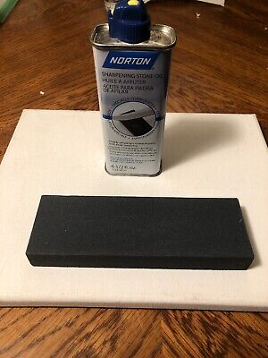 Norton Sharpening Stone With Oil