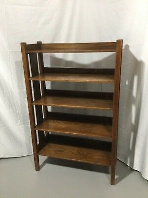 GUSTAV STICKLEY / MAGAZINE STAND / 1915 - 1917 / Double Signed