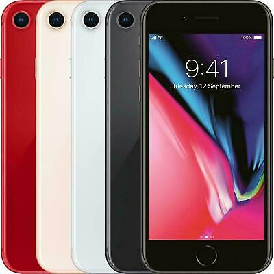 EXCELLENT Apple iPhone 8 64GB 256GB - Unlocked - All Grades 12 Month Warranty