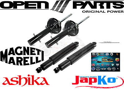 Shock Absorbers Front+Rear BMW 3 Series (E46) 318d 320d 330d 316i 318i/Touring