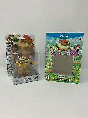 Nintendo Amiibo Bowser Brand New Sealed Mario Party Series W
