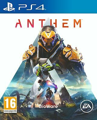 Anthem (PS4 PLAYSTATION 4 VIDEO GAME) *NEW/SEALED* 5030941121491, FREE P&P