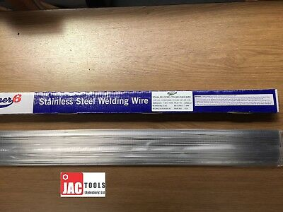 35X STAINLESS STEEL TIG FILLER RODS WELDING WIRE ST/ST 316L 1.6MM OR 2.4MM 330mm