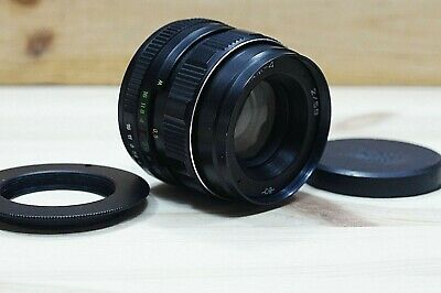 HELIOS-44M 58mm F2 SLR LENS lente bayonet Canon EOS for Canon and m42