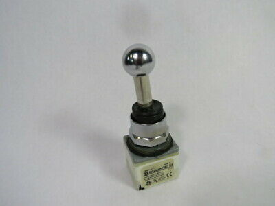 Square D 9001-K71 Series K 3-Position 30mm Joyswitch Switch w/80mm Shaft  USED