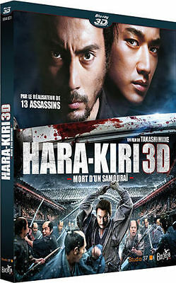 Blu Ray 3D + 2D : Hara Kiri 3D + Version 2D - NEUF