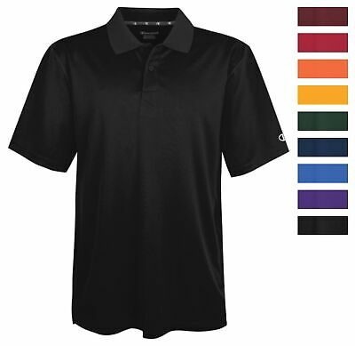 d23322d344 Champion H131 Men's Ultimate Double Dry Solid Polo Athletic Casual Golf  Shirt