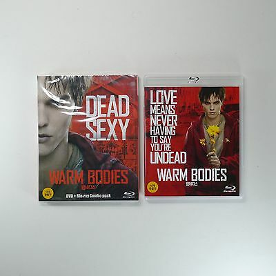 Warm Bodies Blu-ray [Korea Limited Edition, BD+DVD Combo Pack, O-RingCover] 2013