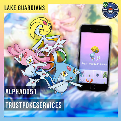 Pokemon Go Legendary Raid Lake Guardians Azelf, Uxie or Mesprit Guaranteed Catch