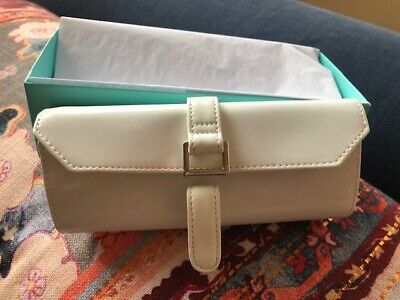 ed70b904715 AUTHENTIC TIFFANY & Co. Leather Zip-Around Wallet 6 card slot coin ...
