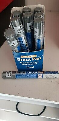 Ronseal One Coat Grout Pen Silver X9