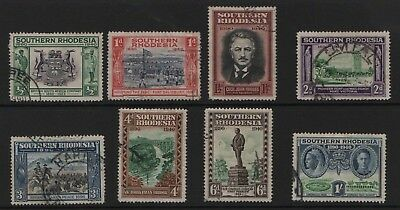 Southern Rhodesia SG53-60 BSAC Golden Jubilee 1940  Very Fine Used